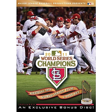 Official 2011 World Series Film DVD SET, St. Louis Cardinals