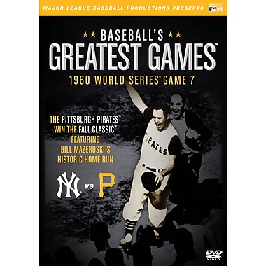 Baseball's Greatest Games: 1960 World Series Game 7 DVD