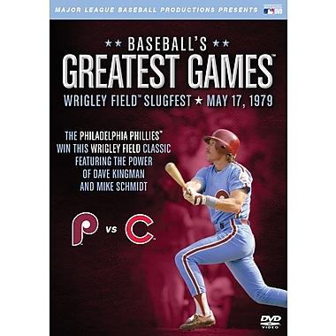 Baseball's Greatest Games: 1979 Wrigley Field Slugfest DVD
