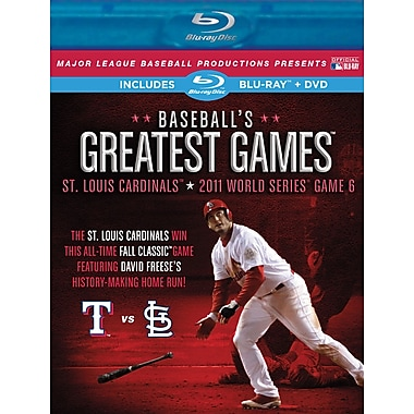Baseball's Greatest Games: 2011 World Series Game 6 Blu-ray / DVD Combo Pack
