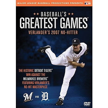 Baseball's Greatest Games: Verlander's 2007 No-Hitter DVD