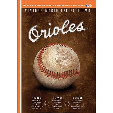 Baltimore Orioles Vintage World Series Films DVD