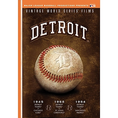 Detroit Tigers Vintage World Series Films DVD