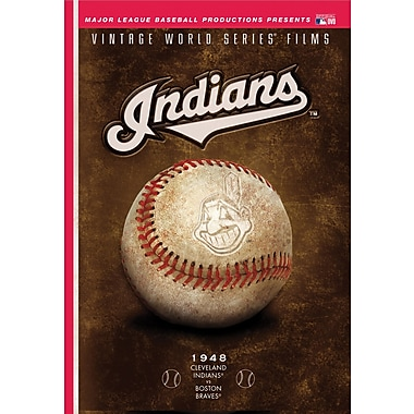 Cleveland Indians: Vintage World Series Films DVD