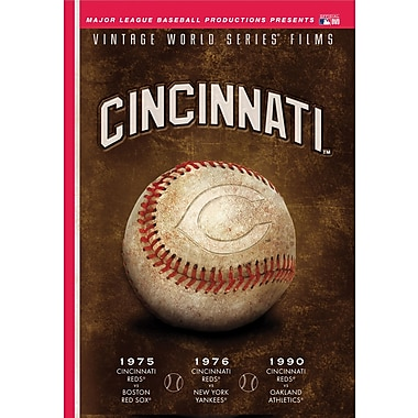 Cincinnati Reds: Vintage World Series Films DVD