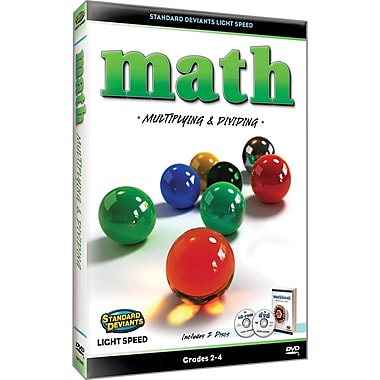 Light Speed Math: Multiplying & Dividing (2 Pack)