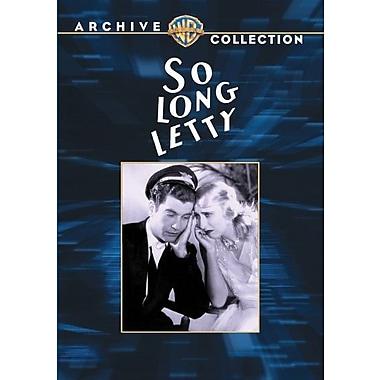 So Long, Letty (1929)