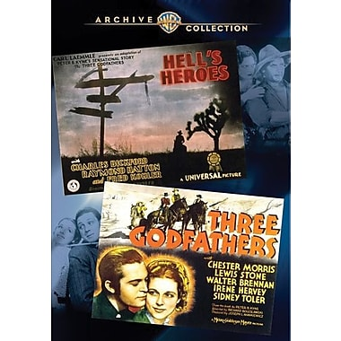 WAC Double Features: Hell's Heroes (1930)/Three Godfathers (1936)