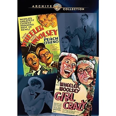 Wheeler & Woolsey Double Feature-Girl Crazy/Peach O'Reno