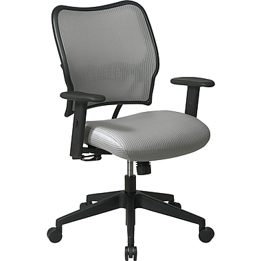 Office Star Space® VeraFlex® Fabric Deluxe Shadow Back Chair, Shadow