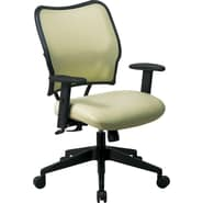Office Star Space® VeraFlex® Fabric Deluxe Shadow Back Chair, Kiwi
