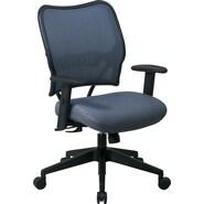 Office Star Space® VeraFlex® Polypropylene Deluxe Chair, Blue