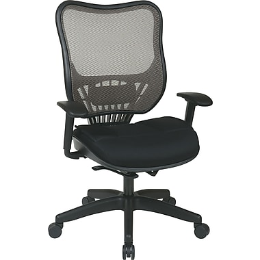 Office Star Space® Mesh Executive Chairs with Latte Air Grid® Seat and Back