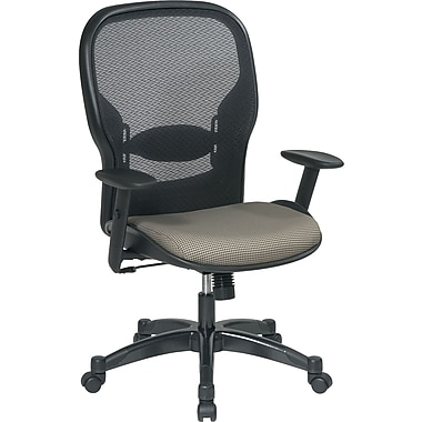 Office Star Space® Fabric Manager Chair with Professional AirGrid® Back, Cornstalk
