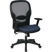 Office Star Space® Fabric Manager Chair with Professional AirGrid® Back, Indigo