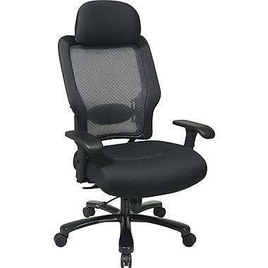 Office Star Space® Black Task Office Chair, Black