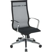 Office Star Proline II® Fabric High Back Screen Executive Chair, Black