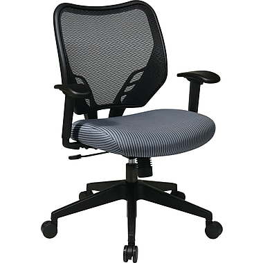Office Star Space® Fabric Air Grid® Back and VeraFlex® Seat Manager Chair, Blue Mist Seat