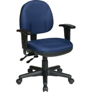 Office Star WorkSmart™ Polyester Ergonomic Managers Chairs with Adjustable Arms