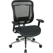 Office Star Space® Fabric Executive Office Chair, Black
