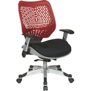 Office Star Space® REVV® Series Fabric Self Adjusting SpaceFlex® Back Manager's Chair, Cosmo/Raven