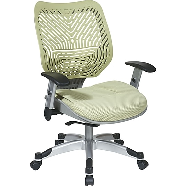 Office Star Space® REVV® Series Fabric Self Adjusting SpaceFlex® Back Manager's Chair, Kiwi