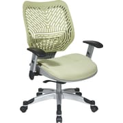 Office Star REVV Series Self-Adjusting SpaceFlex Back Manager's Chair, Adjustable Arm, Kiwi