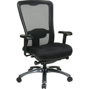 Office Star ProGrid® High Back Office Chair, Coal FreeFlex® Fabric, Black