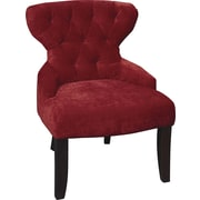 Office Star Ave Six Fabric Armless Chair, Vintage Grenadine (CVS26-V12)