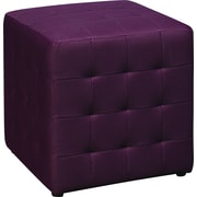 Office Star Avenue Six® Detour 15 Fabric Cube, Purple
