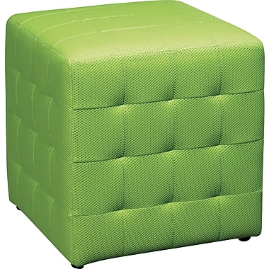 Office Star Avenue Six® Detour 15in. Fabric Cube, Green