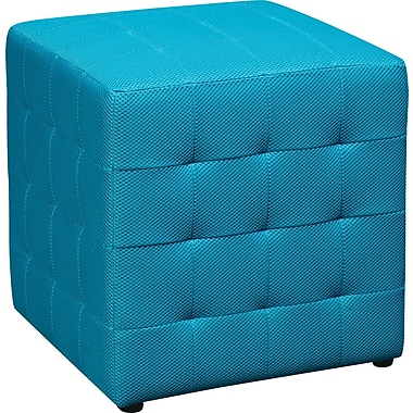 Office Star Avenue Six® Detour 15in. Fabric Cube, Blue
