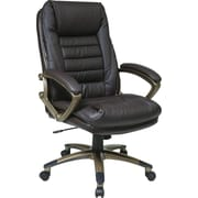 Office Star WorkSmart™ High Back Executive Chair, Espresso