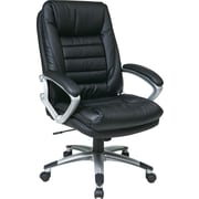 Office Star WorkSmart™ High Back Executive Chair, Black