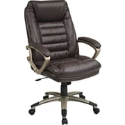 Office Star WorkSmart™ High Back Executive Chair, Wine