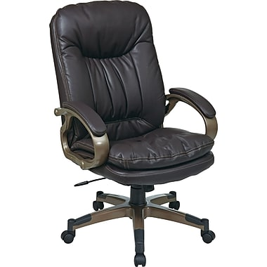 Office Star ECH83501-EC1 Executive Chair, Espresso