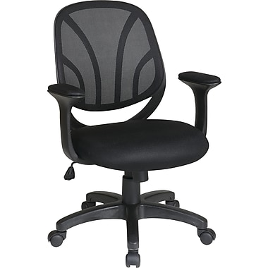Office Star WorkSmart™ Mesh Screen Back Manager Chair, Back