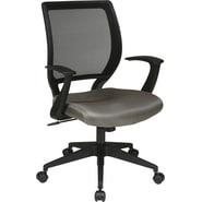 Office Star WorkSmart™ Composite/Mesh Screen Back Task Chair, Gray