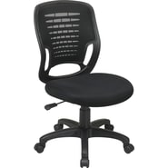 Office Star EM51800-3 Task Chair, Black