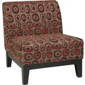 Office Star Avenue Six® Fabric Glen Chair, Twilight Red