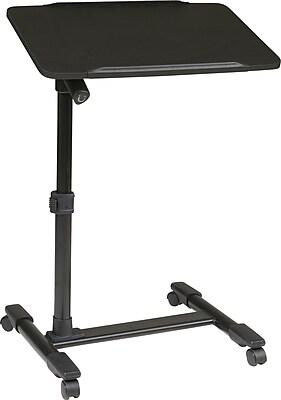 Office Star OSP Designs Steel Mobile Laptop Cart, Black 127020