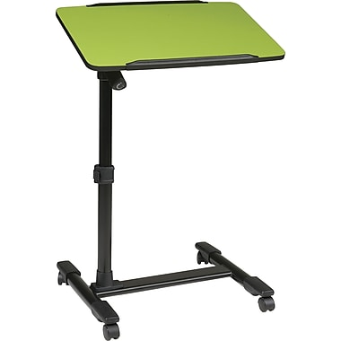 Office Star OSP® Designs Steel Mobile Laptop Cart, Green