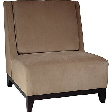 Office Star Avenue Six® Fabric Merge Chair, Easy Brownstone