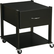 Office Star Orion Mobile File Cabinet, Black