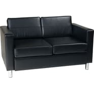 Office Star Avenue Six® Pacific Loveseat, Black