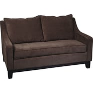 Office Star Avenue Six® Regent Loveseat, Easy Walnut
