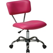 Office Star Avenue Six® Vinyl Vista Task Office Chair, Pink