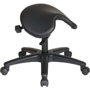 "Office Star WorkSmart 24"" Drafting Stool, Black (ST203)"