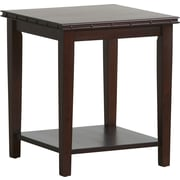 Office Star OSP® Designs Tucson End Table with Nail Head Accent, Dark Espresso