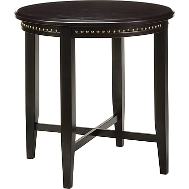 Office Star Tucson Veneers and Solid Wood Pub Table, Dark Espresso
